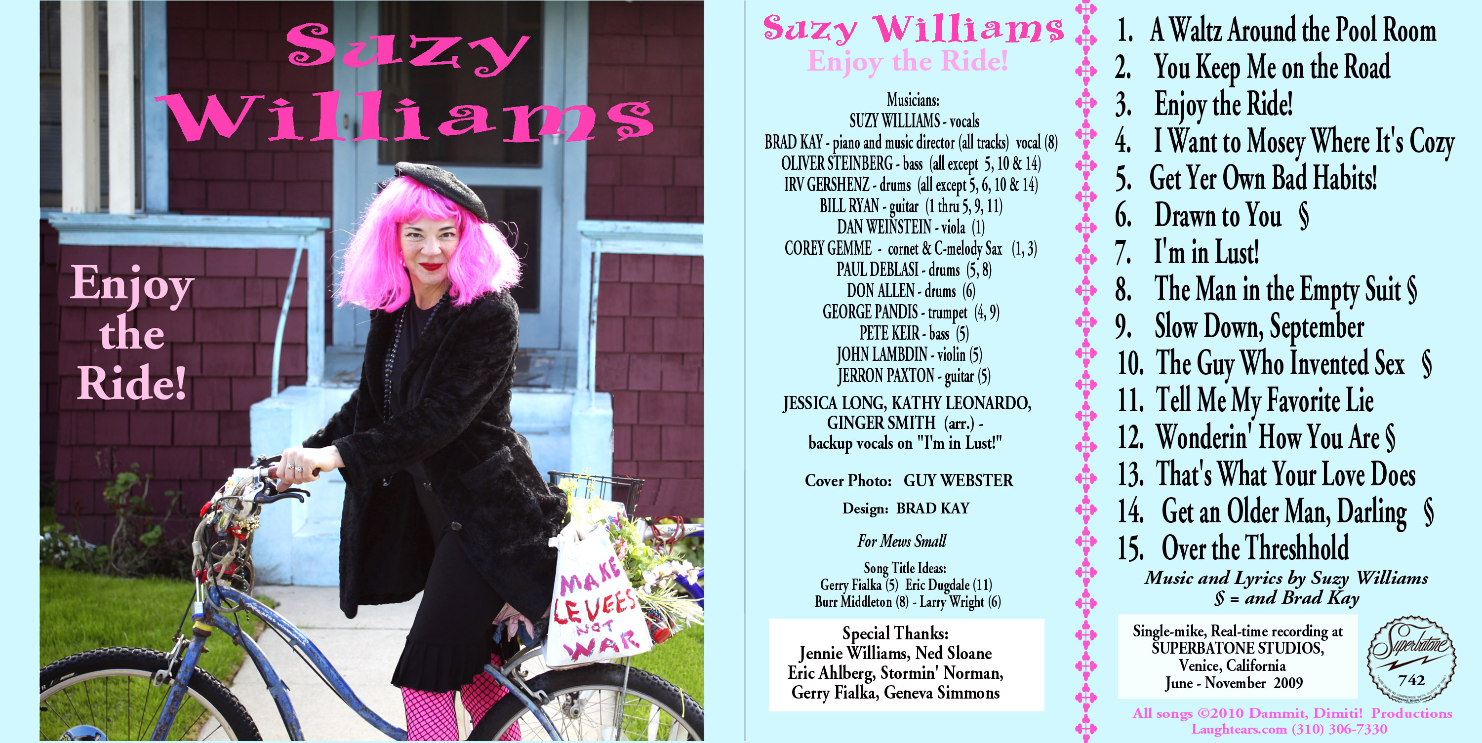 Suzy Williams: Enjoy the Ride